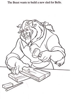 641 Best Beauty And The Beast Images Beauty The Beast Coloring
