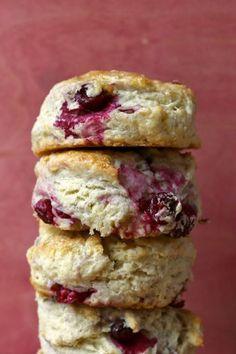 fresh cranberry scones
