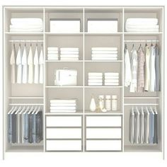 Ideas Bedroom Wardrobe Shelves Walk In For 2019 Bedroom Built In Wardrobe, Bedroom Closet Design, Master Bedroom Closet, Bedroom Furniture Design, Bedroom Wardrobe, Home Room Design, Wardrobe Door Designs, Closet Designs, Wardrobe Ideas