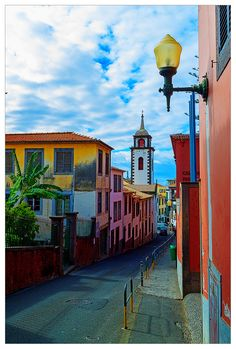 The colors of Funchal, Portugal Funchal, The Places Youll Go, Places To See, Travel Around The World, Around The Worlds, Bangkok, St Peter's Church, Destinations, Portuguese Culture