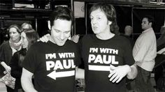 Paul Rudd, Paul McCartney