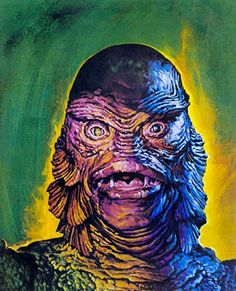 Creature From The Black Lagoon | Basil Gogos Featured on Famous Monsters #103