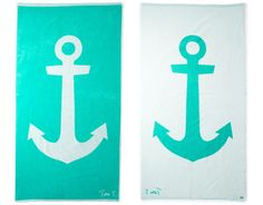 Nautical towels.