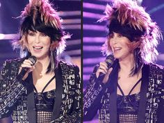 Cher's Wigs on The Voice Finale