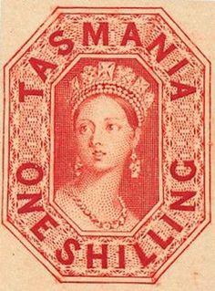 Rare Postage Stamps, 1889 Queen, Filatelia Oceanía, Queen Victoria, British Commonwealth, Diemen S Land, Numismatics Philately, Land 1803 1856