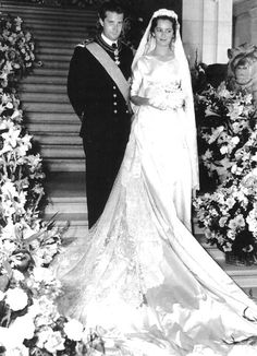 Donna Paola married HRH Prince Albert, Prince of Liège, in Brussels, Belgium, on 2 July 1959.
