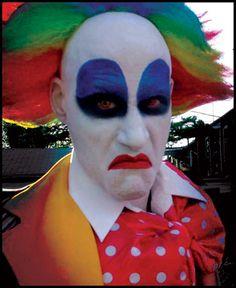 Mean Clown!