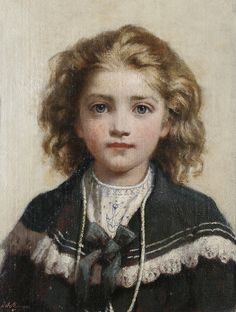 Portrait of Young Boy in Sailor Suit - Sir James Jebusa Shannon
