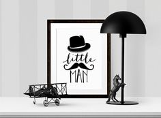 Buy One Get One Free - 5X7, 8X10 or 11X14 available - Art Print - Little Man - Nursery art- Dapper top hat and moustache- minimalist - baby -black and white  ALWAYS BOGO! BUY ONE GET ONE FREE of your choice! - When you purchase any size physical art print or set (Sorry... INSTANT DOWNLOAD PRINTABLES are NOT part of the deal), you will receive one FREE art print of the same size or smaller (if purchasing an 11X14, you can request an 8X10). ********************HOW IT… Minimalist Baby, Free Art Prints, Buy One Get One, Little Man, Nursery Art, Baby Love, Charlie Chaplin, Black And White, Moustache