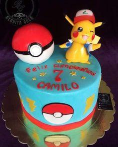 Torta pikachu pokemon