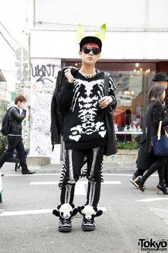 Goth Fashion Harajuku Japan