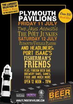 The Plymouth Beer Festival is only a week away!