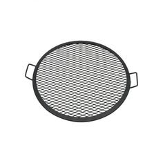 Sunnydaze Decor 24 in. X-Marks Round Steel Fire Pit Cooking Grill Grate, Black Fire Pit Grate, Steel Fire Pit, Fire Pits, Fire Pit Cooking Grill, Cooking On The Grill, Fire Pit Poker, Fire Pit Spark Screen, Fire Pit Video, Square Fire Pit