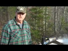 Fatbeeman demonstrates Natural Mite Control with fogger - YouTube