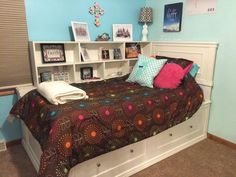 Bed Plans PDF download King size storage bed plans Queen Size Bed ...