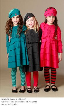 The Atlanta Spring Gift, Home Furnishings & Holiday Market March 15-17, 2013 is please to be feature the Fall/Winter 2013 collection of imaginative girl's and infant's clothing by KidCuteTure and Kashka. KidCuteTure is represented in Atlanta by Janet Hunter Hawkins.