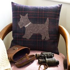 Free sewing pattern :: tweed cushion :: cushion covers :: UK sewing patterns :: allaboutyou.com