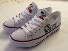 New England Patriots Womans Tennis Shoes