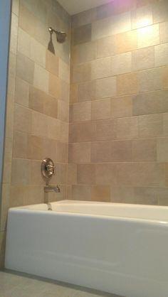 Bathtub Refinishing w/ tile walls