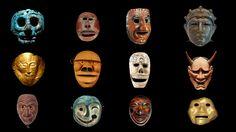 General 3840x2160 mask historic museum culture kabuki Aztec Roman Japan anthropology Celtic