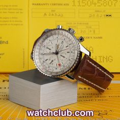 Breitling Navitimer World Chronograph - REF: Mayfair London, Breitling Navitimer, Bond Street, Pilots, Jet Set, Omega Watch, Chronograph, Globe, Sapphire