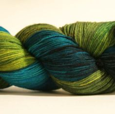 """Ravelry: Laris' Wollmeise """"Pure"""" 100% Merino Superwash I think this would look good with the Hitchhiker pattern."""