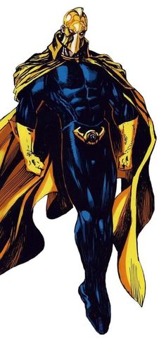 Nelson came into possession of the Helm of Nabu, succeeding Hector Hall as the new Dr. He is the grand-nephew of the original Doctor Fate, Kent Nelson. Dc Comics Characters, Dc Comics Art, Anime Comics, Superman, Batman, Gi Joe, Marvel Dc, Marvel Comics, Dr Fate