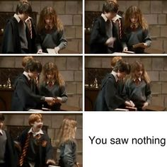 ... potter on Pinterest | Harry and hermione, Hermione and Harry and ginny