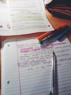 """study-hard-now: """" Ive found that sometimes just writing in plain black byro pen instead of trying to color code everything helps me focus on learning better and helps me study quicker! """""""