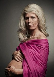 British Ad Campaign Uses Image Of Old Pregnant Woman To Scare Women Into Having Babies Younger...
