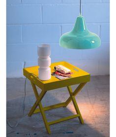 buy habitat blyth storage side table - yellow at argos.co.uk