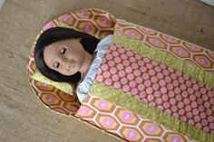 Thanks for the tute - blueSusanMakes - i loved the Dolly Sleeping Bag and a little Tutorial too!
