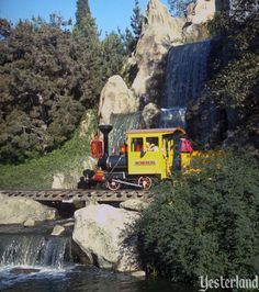 Mine Train Through Nature's Wonderland at Disneyland