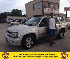 Congratulations to Michael Mumphrey on your #Chevrolet #Trailblazer purchase from Kara Short at Auto Center of Texas! #NewCar