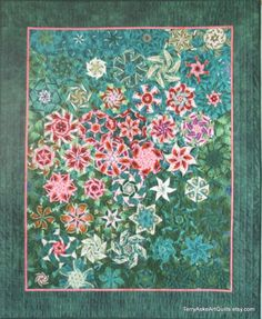 Fireworks Art Quilt by Terry Aske