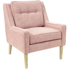 Vida Arm Chair, Rosequartz