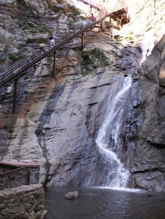 Seven Falls, Colorado Springs, CO - Could def run up these for a workout!