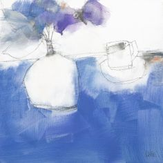 """""""Coffee on Blu"""" artwork by Australian artist, Roger Lane, now available as fine art reproductions - http://www.artreproductions.com.au/gallery.php?artid=2460"""