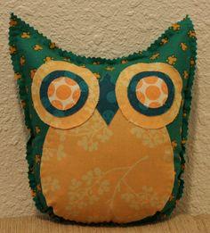 Global Garden Owl Friend by makemorefriends on Etsy, $20.00