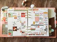 Carpe Diem Reset Girl planner from Simple Stories Marketing Director Layle Koncar