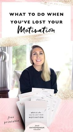 Entrepreneurship is a rollercoaster ride with its fair share of ups and downs. Sometimes you're full of motivation and raring to go, other times it seems like that fire you had inside you has completely died out. In this video I share 4 tips to get your m Business Planner, Business Tips, Online Business, Business Motivation, Inspiration Entrepreneur, Business Inspiration, Female Entrepreneur Association, Losing You, Time Management