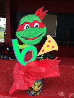 Ninja Turtle centerpiece's