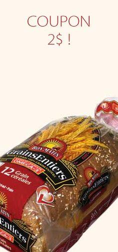 Coupon de 2 $ pour les pains Bon Matin.  http://rienquedugratuit.ca/coupons/2-pour-les-pains-bon-matin/