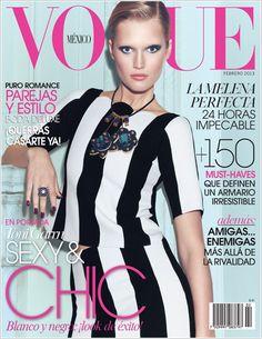 Vogue Mexico, February  2013