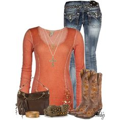 Date outfits, cool outfits, casual outfits, beautiful outfits, cute fashion Cute Fashion, Look Fashion, Fashion Outfits, Womens Fashion, Fall Fashion, Diva Fashion, Country Fashion, Country Outfits, Country Girls