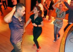 Salsa dancing at Chicago in Stockholm, more at the blog