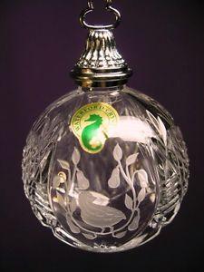 NOLLAIG - An Irish Christmas: Waterford crystal 12 days of christmas tree ornament