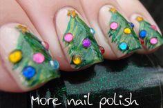More Nail Polish: Aussie Christmas Challenge - Christmas Tree