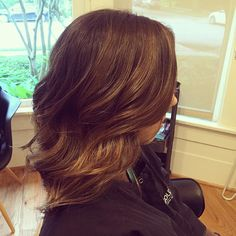A little hair painting on @lsyrko to ease her into some color.  #SalonTrose #iamgoldwell #mastercolorist #virginhair