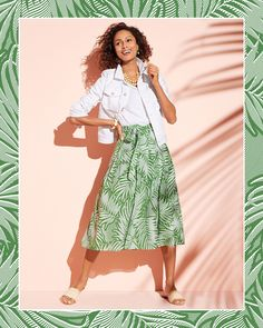 Dreaming of palm trees? You're not alone. | Talbots Summer Outfits